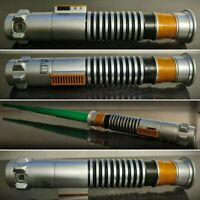 Rare Green Star Wars Lightsaber Toy 2015 Hasbro Lucas film Ltd