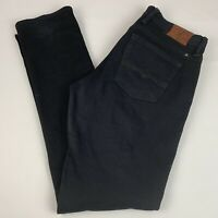 Lucky Brand Sweet'n Straight Leg Jeans Women's 6/28 Stretch Black & Gray Wash