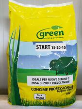 Concime fertilizzante professionale prato tappeto erboso START 15-20-10 KG 10