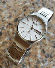 Vintage Citizen CQ Crystron Quartz Watch March 1978 JDM  KANJI 7100 Dress Watch