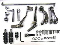 V-Twin Manufacturing Chrome Forward Control Kit -2 in. Extended Harley Sportster