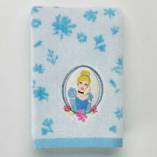 CINDERELLA DISNEY HAND TOWEL PLUSH! NEW! FREE SHIP! PRINCESS CINDERELLA! BLUE!
