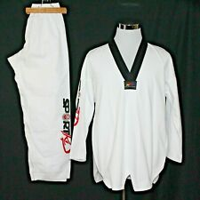Adidas Robinson WTF Taekwondo Uniform (Female) Size 5 Dobok TKD Gi Set of 2
