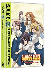 Bamboo Blade: The Complete Series - S.A.V.E. (DVD, 2011, 4-Disc Set)