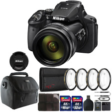Nikon COOLPIX P900 Digital Camera with 83x Optical Zoom & Accessory Kit