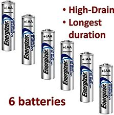 *EXPIRY 2037* 6 x ENERGIZER ULTIMATE AA LITHIUM BATTERIES LR6 L91 NEW 1.5v NEW