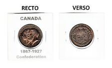 CANADA 1867-1927 CONFEDERATION MEDAL - EXCEPTIONNAL CONDITION