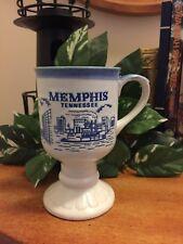 Vintage souvenir coffee cup mug Memphis Tennessee irish coffee cup