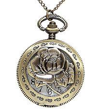 Orologio da taschino con catena Steampunk Western qualità WIDMANN Costume Accessorio