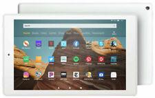 "White NEW Amazon Fire HD 10 B07KD6BTCZ 2019 release 10.1"" Tablet 32GB 32 Alexa"