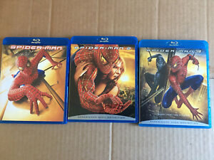 Spider-Man 1, 2, 3 (Blu-ray Disc, 2007), Trilogy 3 Movies