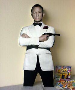 "Daniel Craig Display Stand Standee 24"" Figure James Bond Agent 007"