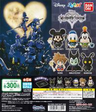 Bandai ColleChara! Disney Kingdom Hearts Gashapon Mickey Donald Sora Set of 6pcs