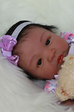 ADORABLE REBORN SHYANN BOUNTIFUL BABY NOW BEAUTIFUL BIRACIAL GIRL *MUST SEE*