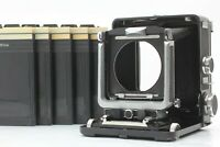 【Excellent +5】 WISTA 45 45D LARGE FORMAT 4x5 CAMERA Cut film x5 from Japan #239