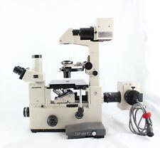 Olympus Imt2 Inverted Fluorescence Phase Contrast Dic Nomarski Microscope
