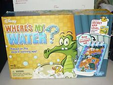 Disney Where's My Water Game by Hasbro - 2012 Edition - 100% Complete!