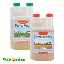 CANNA 1l Nutrients Terra Vega Terra Flores Hydroponics Kit