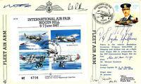 International Air Fair- Biggin Hill Signed 3 Involved iun the Battle of Britain,