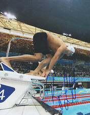 Ryan Lochte *USA OLYMPIC SWIMMER* Signed 8x10 Photo L3 COA GFA PROOF!