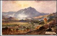 England Tuck OILETTE Pc ~1910 Loch Achray Artist Card
