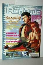 RIVISTA GAME REPUBLIC NUMERO 18 MARZO 2001 USATA EDIZIONE ITALIANA VBC 48274
