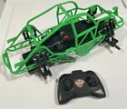 Grave Digger New Bright RC Truck Crawler Roll Cage + Internals and Remote 1:16