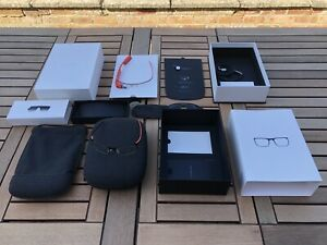 Google Glass Orange Collectible Set With Huge Accessories Bundle Not Working