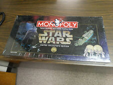 Star Wars Monopoly - LIMITED Collectors Edition - 20th Anniversary NEW / SEALED