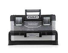 Stanley Tool Box Metal Plastic Drawers NEW