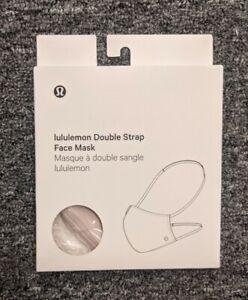 New Lululemon Double Strap Face Mask MISTY PINK  Authentic