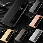 Smart View Leather Slim Flip Case Cover For Huawei P20 Mate 30 20 10 Pro Lite