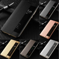 Smart View Leather Slim Flip Case Cover For Huawei P20 Pro Mate 20 10 Pro Lite