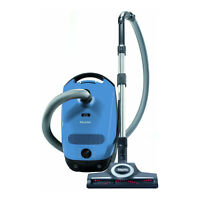 Miele Classic C1 Turbo Team Canister Vacuum Cleaner (Mystique Blue)