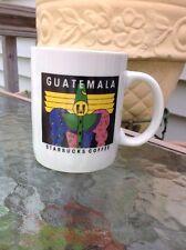 Vintage 1990s Starbucks Guatemala Ceramic Coffee 12 oz Mug Cup Mime Clown Rare