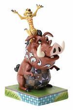 Disney Traditions Timon and Pumbaa 18cm Resin Figurine