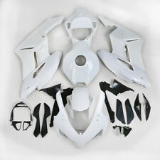 White Unpainted ABS Plastic Fairing Cowl Bodywork Set For Honda CBR1000RR 04-05
