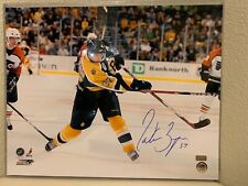 Patrice Bergeron Signed Boston Bruins 16x20 Photo GA