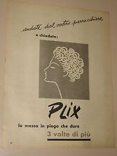 PLIX MESSA IN PIEGA=ANNI '50=PUBBLICITA=ADVERTISING=WERBUNG=417