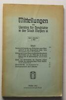 Mitteilungen des Vereins für Geschichte der Stadt Meissen Bd 9 Heft 1 1913 sf