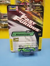 """REVELL  THE FAST & THE FURIOUS  MITSUBISHI ECLIPSE  """"GREEN"""" ISSUE   #100  """"NIP"""""""