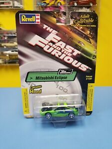 """Revell The Fast & The Furious Mitsubishi Eclipse """"Verde"""" Edición # 100"""" Nip """""""