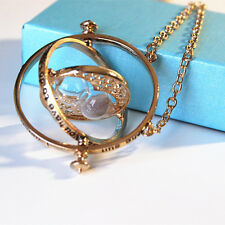 Special!!! High Quality Harry Potter Time Turner Necklace with Gift Box-US SHIP