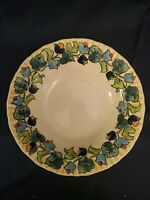 MIKASA COUNTRY CLASSICS DC016 MANORVILLE 10.5 in. VEGETABLE SERVING BOWL.  Mint!