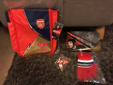 Arsenal Junior Gunners Membership Pack 2016/17- New with tags X10