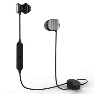 COWIN HE8D ACTIVE NOISE CANCELLING BLUETOOTH EARBUDS SILVER HARD TRAVEL CASE MIC