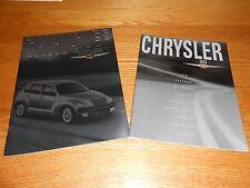 2002 CHRYSLER PT CRUISER 40 Page PRESTIGE BROCHURE + 40 p. 02 FULL-LINE CATALOG