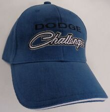 Hat Cap Dodge Challenger Blue H204