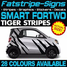 SMART CAR FORTWO TIGER STRIPES GRAPHICS STICKERS DECALS COUPE CONVERTABLE BRABUS