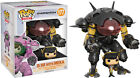 "FUNKO POP VINYL OVERWATCH DVA AND MEKA CARBON FIBRE EXCLUSIVE 6"" SUPER SIZED"